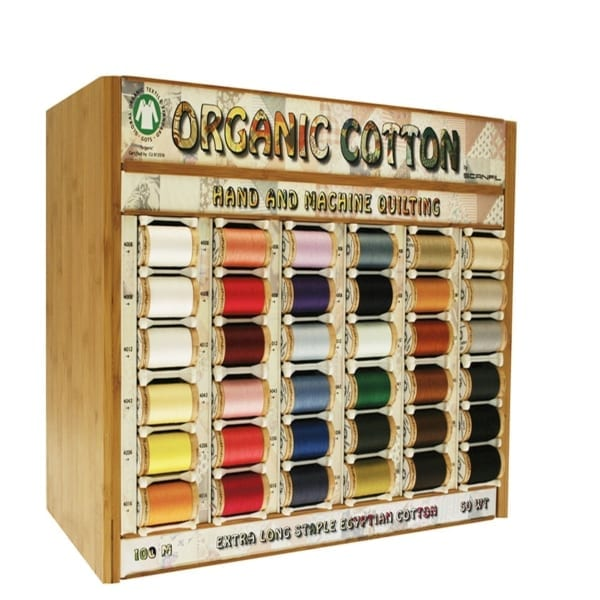 Scanfil Organic Sewing thread, Qiuilting, machine sewing