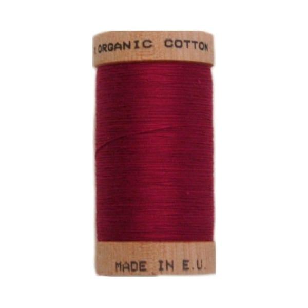 Organic sewing thread, Scanfil Burgundy 4806
