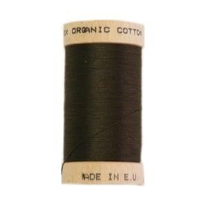Organic sewing thread, Scanfil Dark Brown 4830