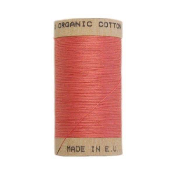 Organic sewing thread, Scanfil Dusky pink 4807