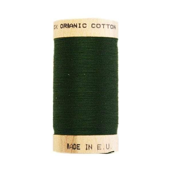 Organic sewing thread, Scanfil Forest green 4822