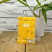 Kitchen Scrubber, Scrim Cloths, Waffle Cloths, organic fabric , Yellow Pattern