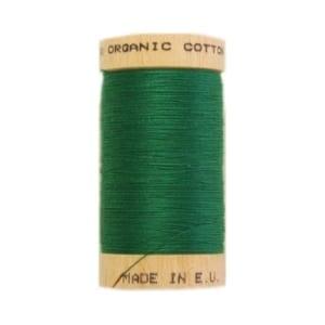 Organic sewing thread, Scanfil Kelly Green 4821