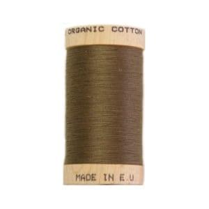Organic sewing thread, Scanfil Khaki 4824