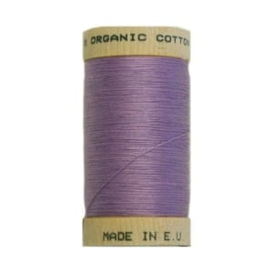 Organic sewing thread, Scanfil Lavender 4812