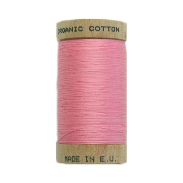 Organic sewing thread, Scanfil Pink 4809