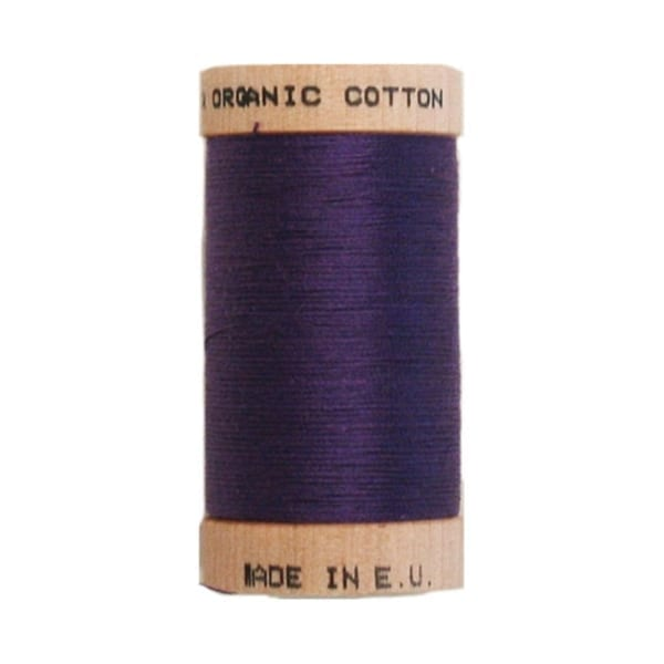 Organic sewing thread, Scanfil Purple 4813