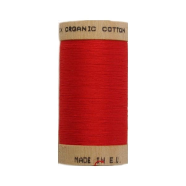 Organic sewing thread, Scanfil Red 4805