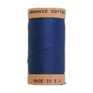 Organic sewing thread, Scanfil Royal Blue 4817