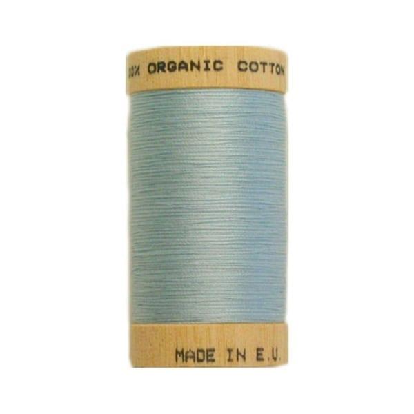Organic sewing thread, Scanfil sky blue 4814