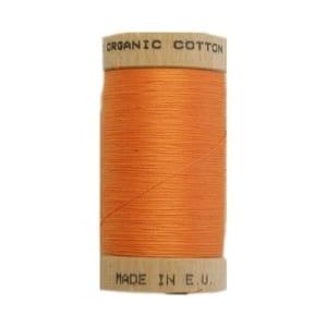 Organic sewing thread, Scanfil Tangerine 4804
