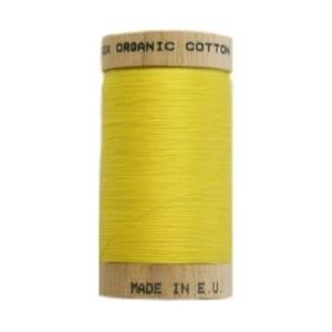 Organic sewing thread, scanfil yellow 4803